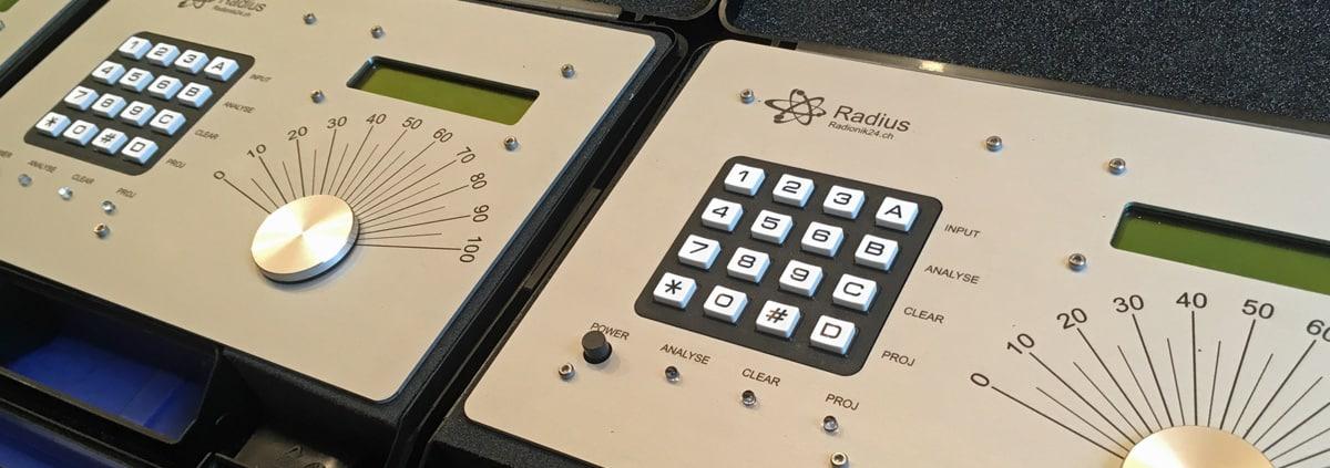 Radionikgerät zu Analyse und Projektion